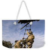Air Force Pararescuemen Are Extracted Weekender Tote Bag
