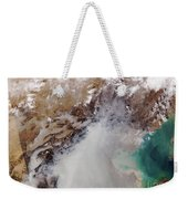 Air Pollution Over China Weekender Tote Bag