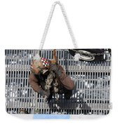 Airman Carries Chains To The Flight Weekender Tote Bag