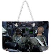 Airmen At Work In A Mc-130h Combat Weekender Tote Bag