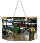 Airport Before The Busy Day. Vilnius. Lithuania. Weekender Tote Bag