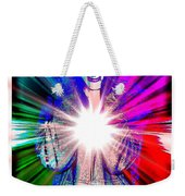 Ajay In Abstract Weekender Tote Bag