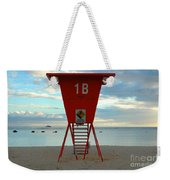 Ala Moana Lifeguard Station Weekender Tote Bag