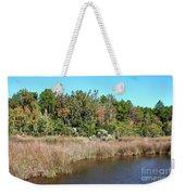 Alabama Bayou In Autumn Weekender Tote Bag