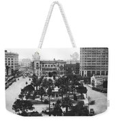 Alamo Plaza In San Antonio Weekender Tote Bag