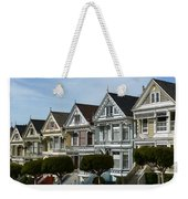Alamo Square San Francisco California Weekender Tote Bag