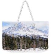 Alaska Range Peak Weekender Tote Bag