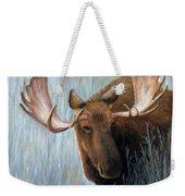 Alaskan Bull Moose Weekender Tote Bag