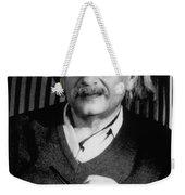Albert Einstein, German-american Weekender Tote Bag