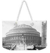 Albert Hall In London - England - C 1904 Weekender Tote Bag