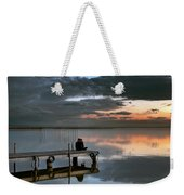 Albufera. Couple. Valencia. Spain Weekender Tote Bag