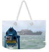 Alcatraz View Weekender Tote Bag