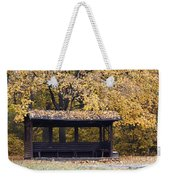 Alcove In The Autumn Park Weekender Tote Bag