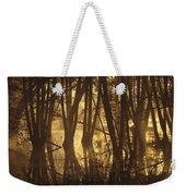 Alder Tree Marshland At Sunrise Weekender Tote Bag