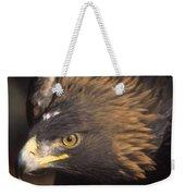 Alert Golden Eagle Weekender Tote Bag