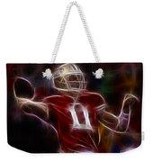 Alex Smith - 49ers Quarterback Weekender Tote Bag