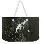 Alexander Graham Bell And Mabel Kissing Weekender Tote Bag