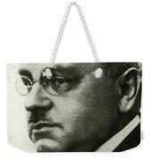 Alfred Adler, Austrian Psychologist Weekender Tote Bag
