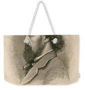 Alfred, Lord Tennyson, English Poet Weekender Tote Bag
