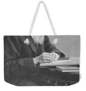 Alfred Russel Wallace Weekender Tote Bag by Science Source