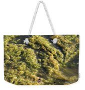Algae Bloom In A Pond Weekender Tote Bag