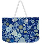 Algae, Fossil Diatoms, Lm Weekender Tote Bag