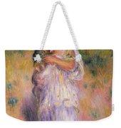 Algerian Woman And Child Weekender Tote Bag by Pierre Auguste Renoir
