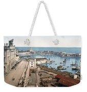 Algiers - Algeria - Harbor And Admiralty Weekender Tote Bag