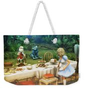 Alice In Wonderland Weekender Tote Bag by Jutta Maria Pusl