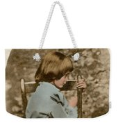 Alice Liddell, Alices Adventures Weekender Tote Bag by Science Source