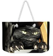 Alice's Cat Weekender Tote Bag by Rebecca Margraf