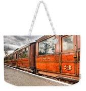 All Aboard Weekender Tote Bag by Adrian Evans