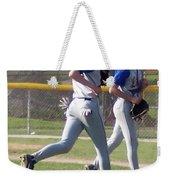 All Air Baseball Players Running Weekender Tote Bag