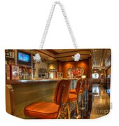 All American Diner 3 Weekender Tote Bag by Bob Christopher