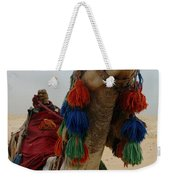 Camel Fashion Weekender Tote Bag