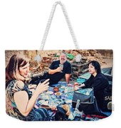 All Saints Day Cemetery Picnic New Orleans Weekender Tote Bag