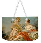 Allegory Of Music Weekender Tote Bag