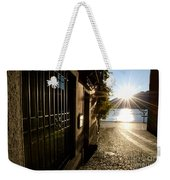 Alley With Sunshine Weekender Tote Bag