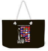 Allied Nations Fight For Freedom Weekender Tote Bag by War Is Hell Store