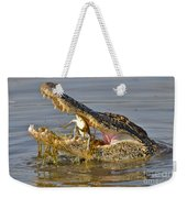 Alligator Get Lunch Weekender Tote Bag