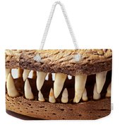 Alligator Skull Teeth Weekender Tote Bag