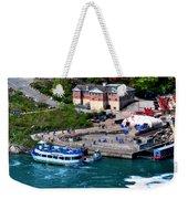 Allll Aboard Weekender Tote Bag