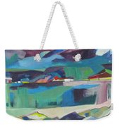 Almost Abstract Painting Weekender Tote Bag