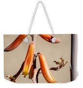 Aloe Flower And Stem Weekender Tote Bag