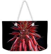 Aloe Flowers Weekender Tote Bag