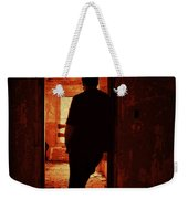 Alone In The Endzone Weekender Tote Bag