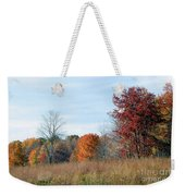 Alone With Autumn Weekender Tote Bag