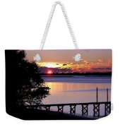 Alone With God Weekender Tote Bag by Karen Wiles