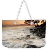 Alone With The Sea Weekender Tote Bag by Mike  Dawson