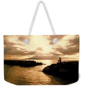 Alone With Your Thoughts Weekender Tote Bag